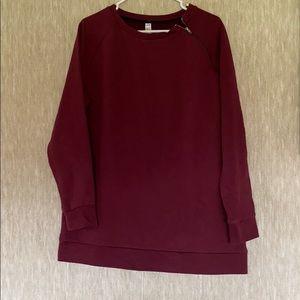 Maroon sweatshirt - Lole size XL